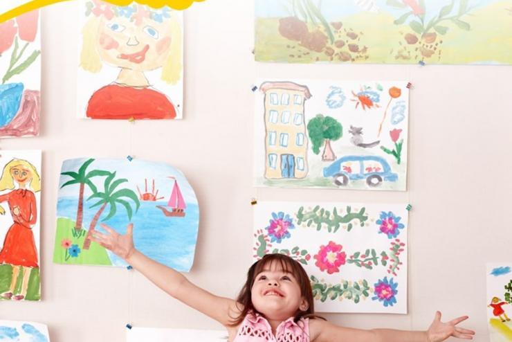 Mỗi bức tranh sẽ cho con một gam màu cảm xúc