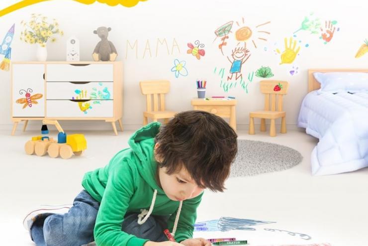 Đam mê vẽ sẽ cho con thật nhiều gam màu cảm xúc