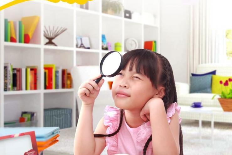 Kho báo màu sắc quanh nhà sẽ cho con bài học quán sát và ghi nhớ tốt nhất