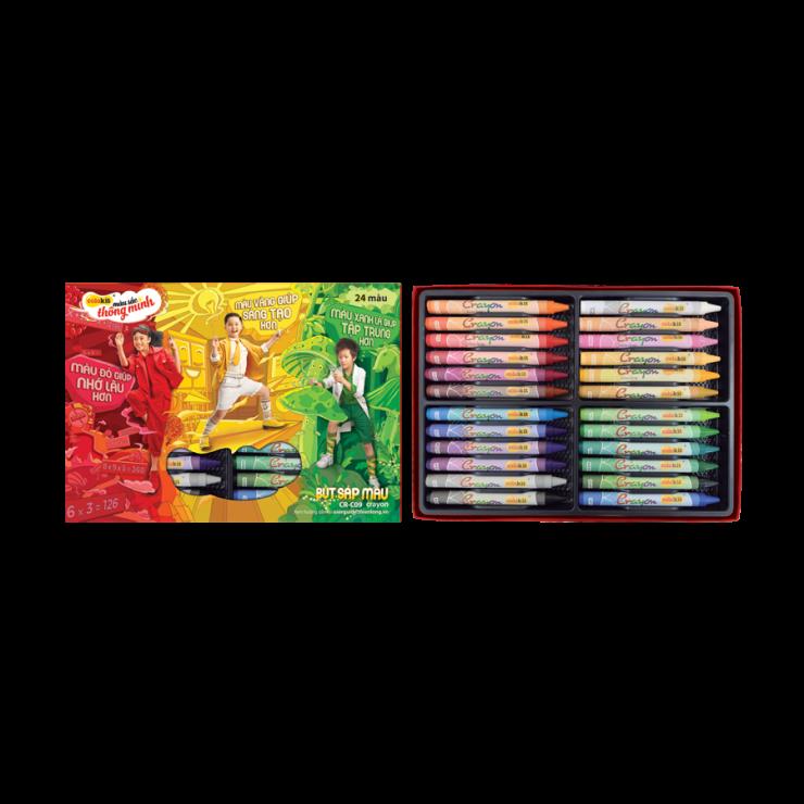 Bút sáp màu CR-C09