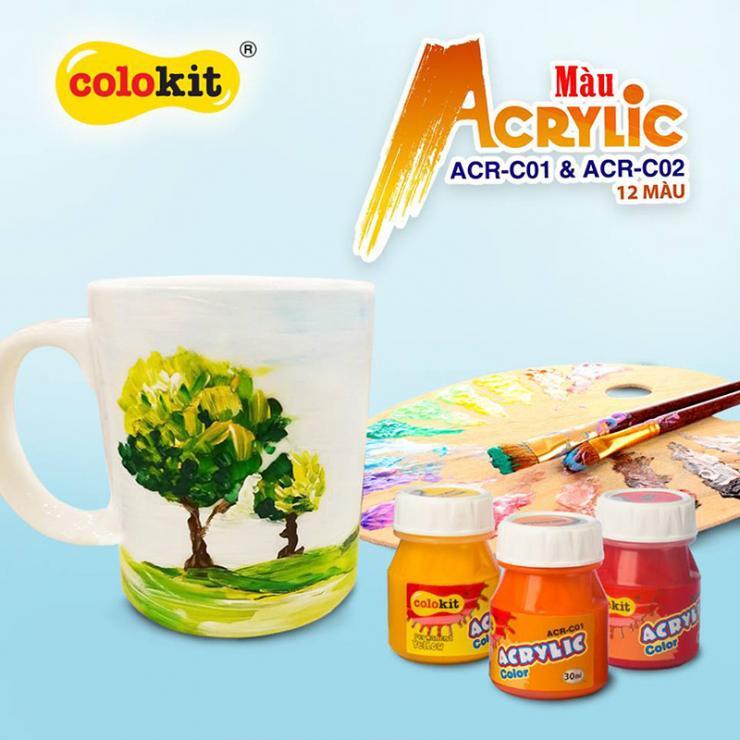 Màu Acrylic ACR-C01