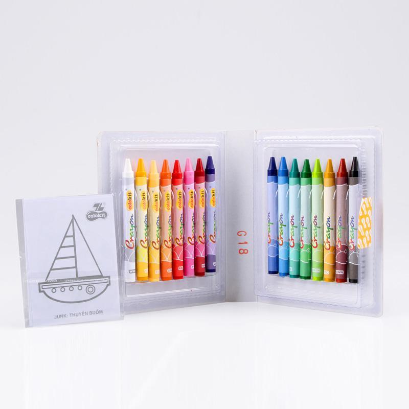 Bút sáp màu CR-C08