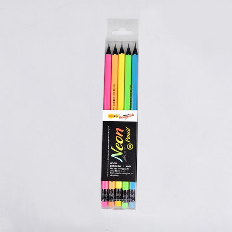 Bút chì neon 2B GP-C01