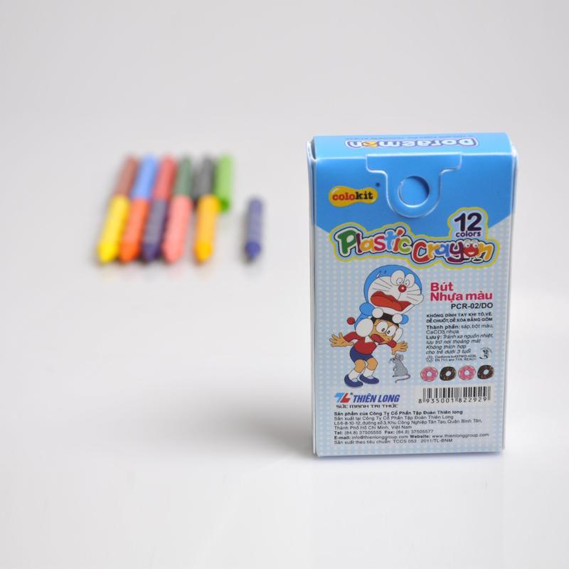 Sáp nhựa màu PCR-02/DO