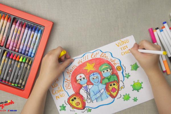 5 Tips mỹ thuật cực hay cho bé sáng tạo trong mùa hè cùng Colokit